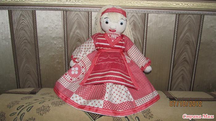 Кукла из тряпочек своими руками