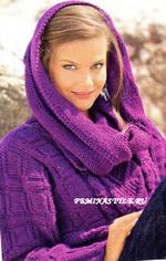 """Пуловер с рукавами """"летучая мышь"""" и шарф-хомут: Дневник группы ..."""