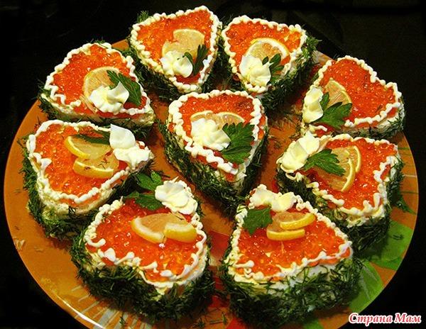 Бутерброды с красной рыбой рецепты и оформление - фото