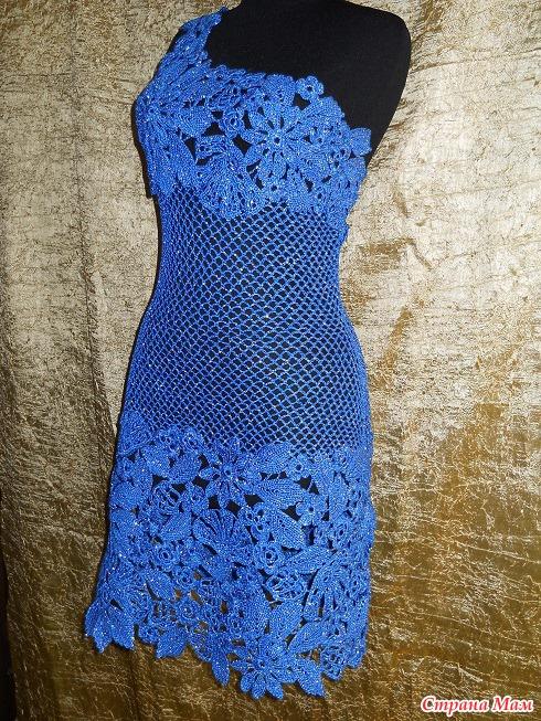 Мастерица вязание крючком платья