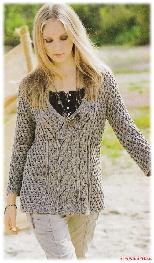 Вязаные Пуловеры Женские