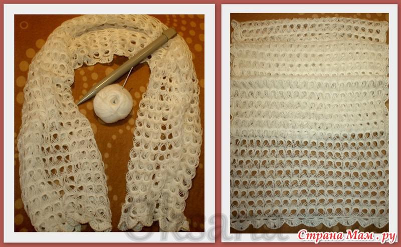 Перуанское вязание или техника
