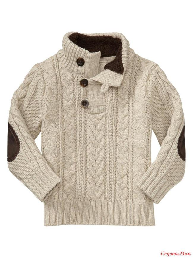 Вязать свитер для мальчика