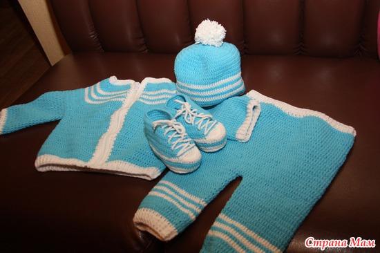 Связать комплект <i>как связать для новорожденных мальчиков комплектов</i> для новорожденного мальчика