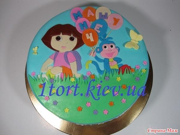 Рисунки на тортах картинки