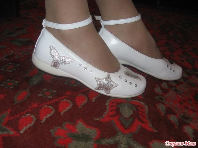 белые туфли для девочки 10 лет фото