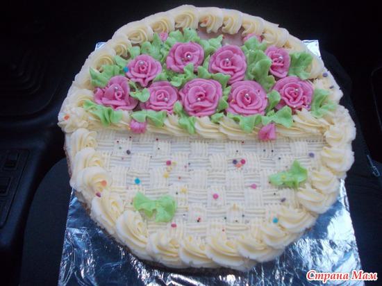 Интересные тортики с фото