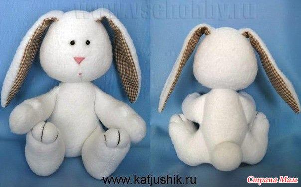 Сшить зайца мастер класс