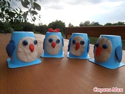 Поделки из под йогурта своими руками фото 29