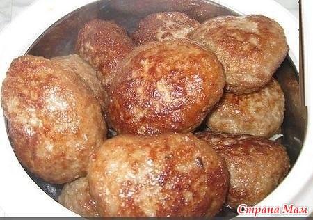 Рецепт вкусных котлет мясного фарша фото