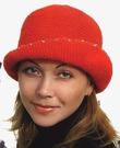 Белая вязанная крючком шляпа со схемами вязания.: .  ШЛЯПЫ КРЮЧКОМ Схемы вязания с описанием.