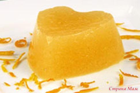 Мусс апельсиновый рецепт
