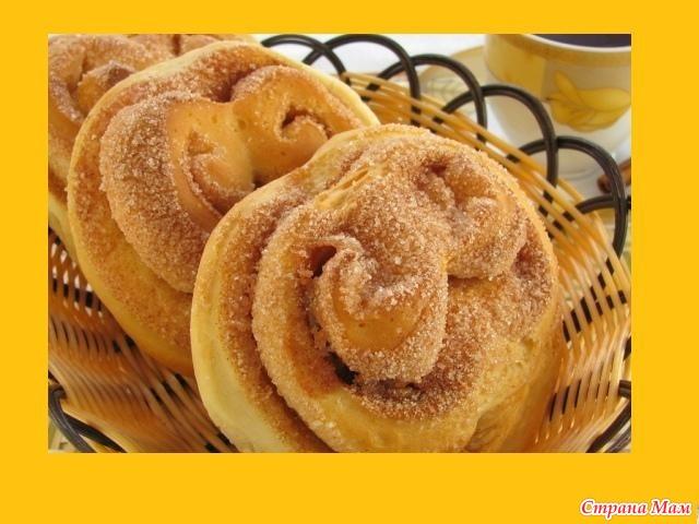 Сладкие сдобные булочки рецепт с фото