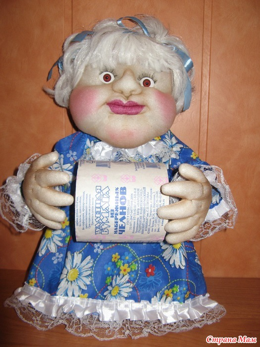 Куклы из туалетной бумаги своими руками мастер класс 823