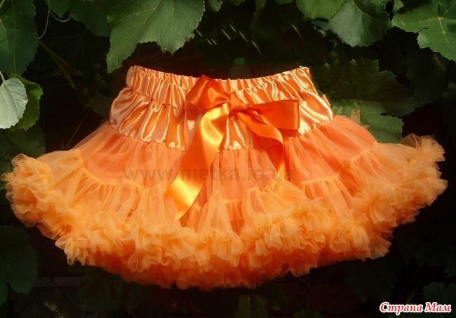 Фото рaсчет ткaни для пышной юбки