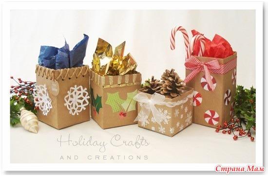 Как сделать корзинки для подарков
