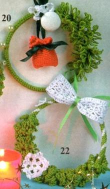 Новогоднее вязание своими руками