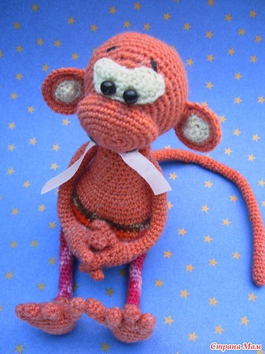 Свое вязание крючком обезьянки 458
