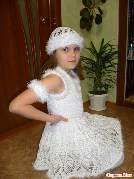 *Вот и моя снежинка готова!