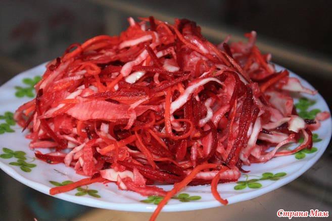 Фото салатов по корейски