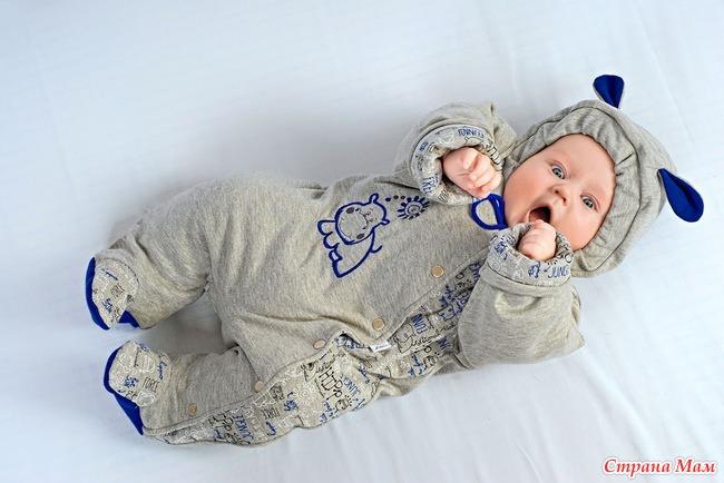 Костюмчик своими руками для новорожденного 5