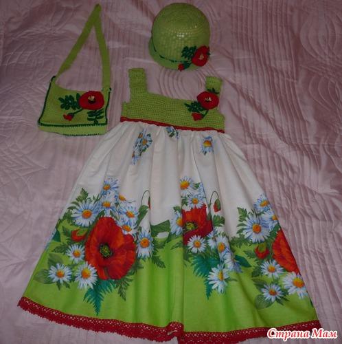 Платья для детей до года