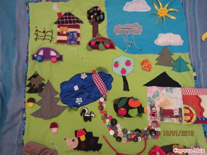 Сшить коврик для ребенка от 0 до 3 130