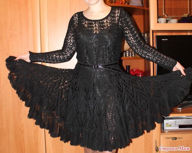 Страна мам вязание крючком платья