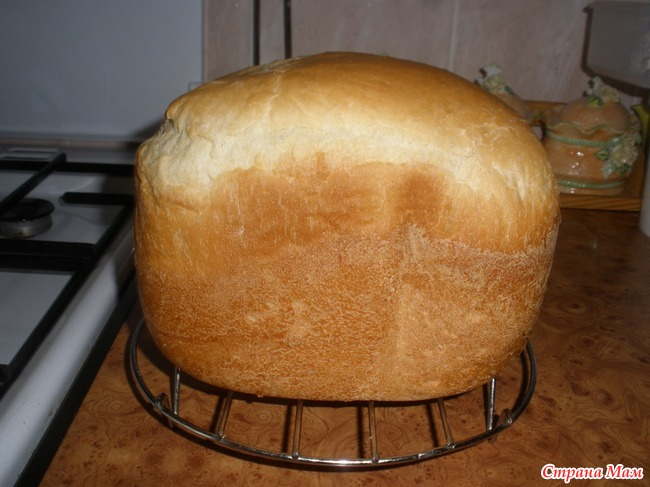 Как сделать хлеб в хлебопечке без дрожжей