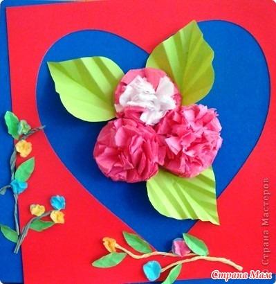 Сердечные коты и сердечные цветы к празднику (идейки) - Страна Мам