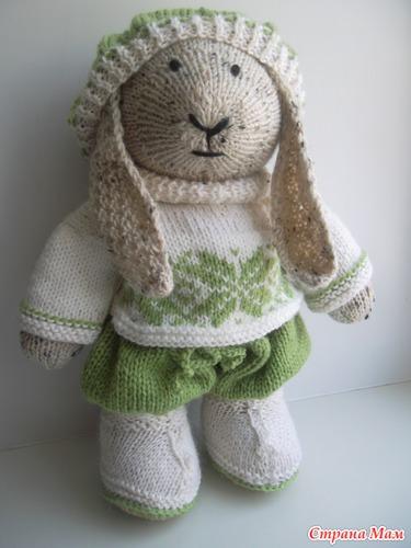 Заяц в одёжках