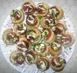 Розочки из теста и колбасы рецепт пошагово