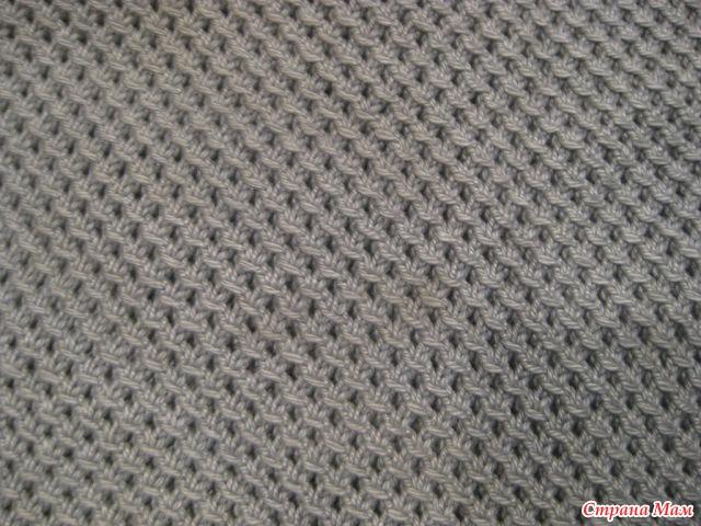 Вязание кольчуга схема спицами 25