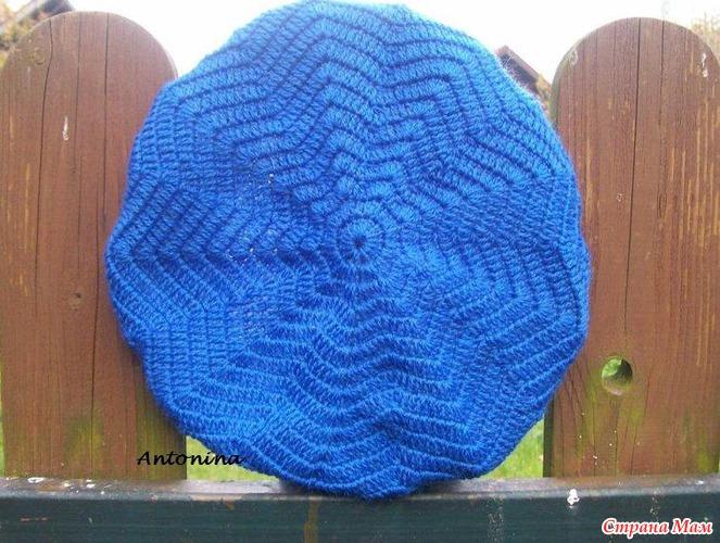 схемы вязания берета