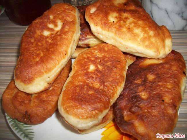 Пирожки жареные домашние