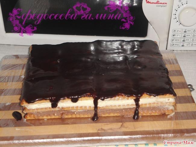 Рецепты тортов которые не надо печь рецепты