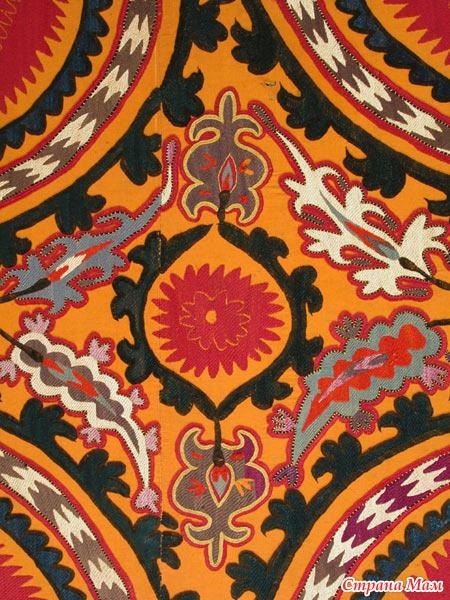 Узбекская вышивка, Тамбурный