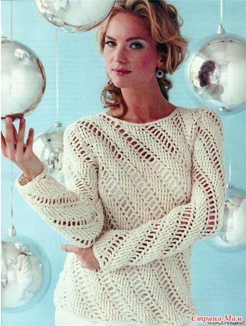 Вязание спицами. Одежда для женщин 11