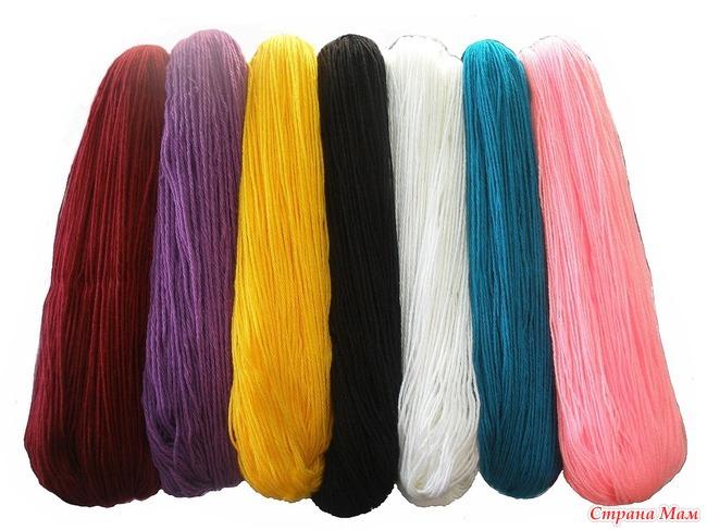 Купить нитки для вязания в україні