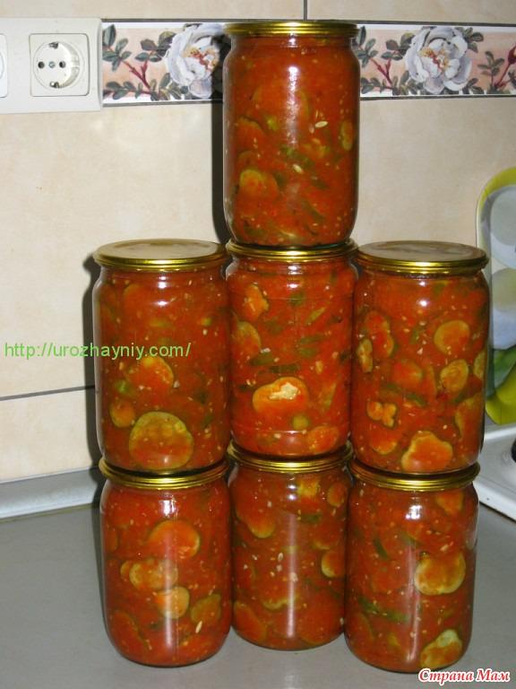 салат из огурцов и перец на зиму рецепты