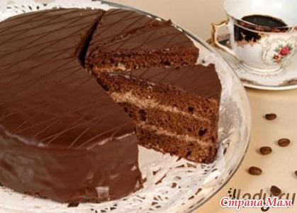 фото и рецепт пражскава торта