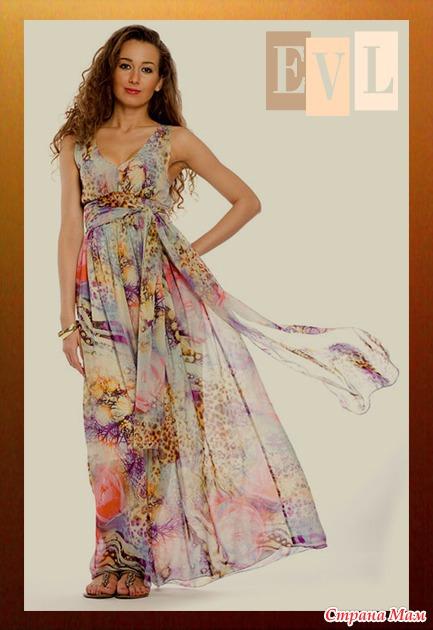 Скачать выкройка платья с открытой спиной размер 42