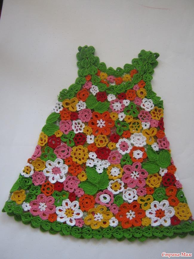 Детские платья ирландское кружево