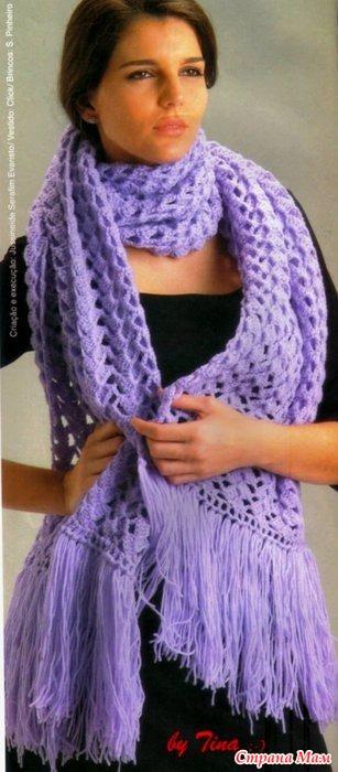Начинаем утепляться - шарф
