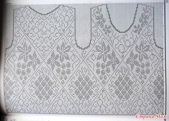 Вязание, вязание крючком, для немодельных дам, жакет http://bbsbianzhirenshengcom