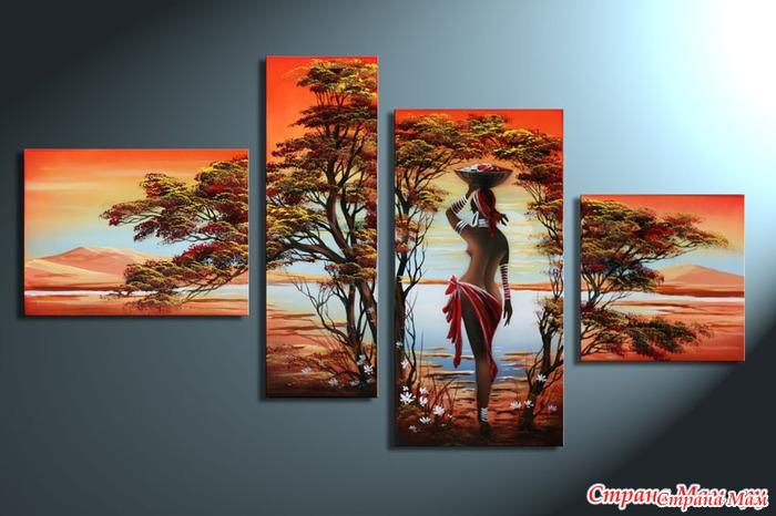 "Триптих ""Африка"""
