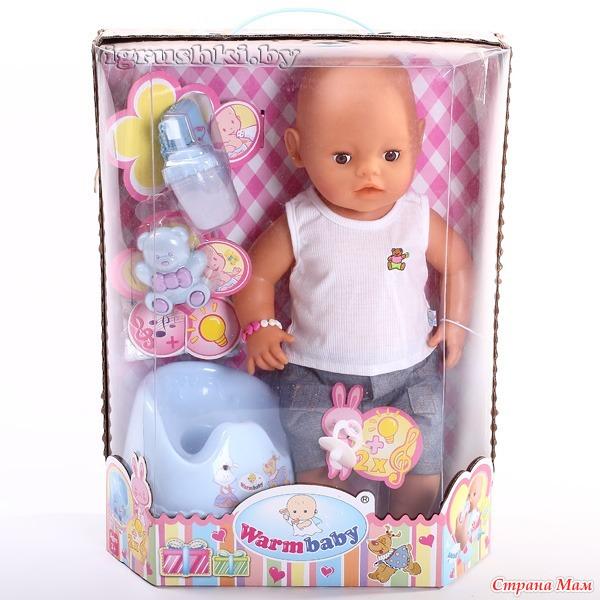 Кукла warm baby инструкция