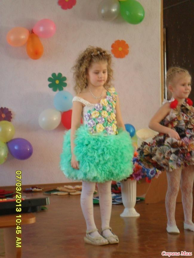 Платье из пакетов своими руками для детей пошагово с фото 42