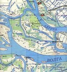 рыболовная карт средней ахтубы