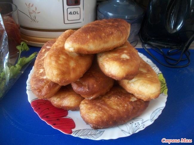 Жареные пирожки на заварном тесте рецепт пошаговый рецепт